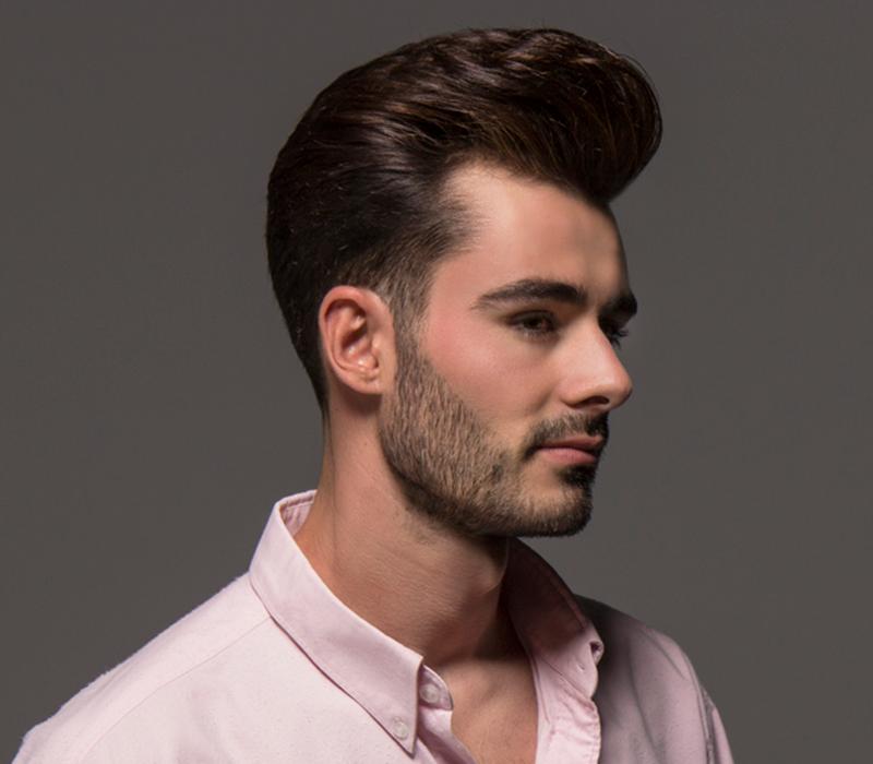 Historia del corte de cabello pompadour