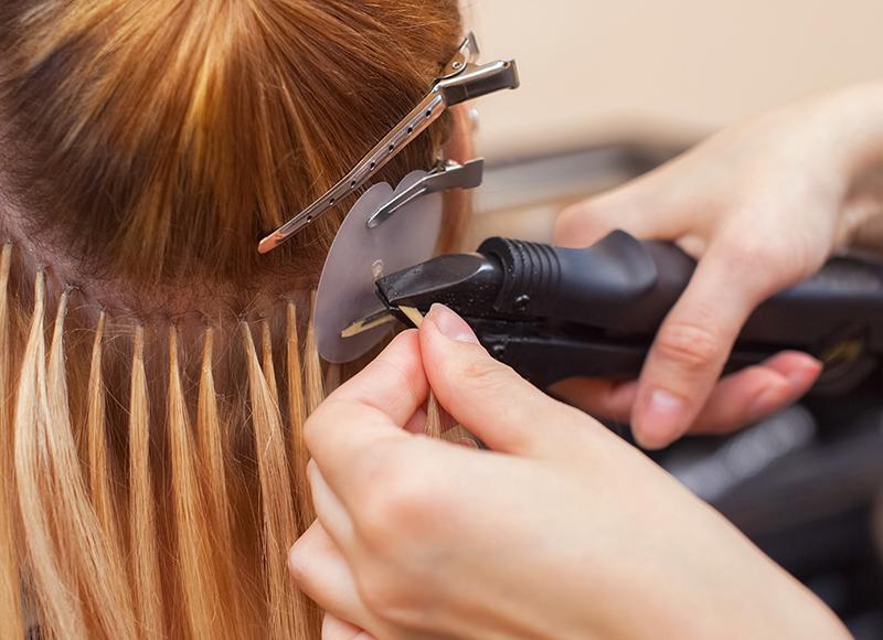 Tipos de extensiones de cabello