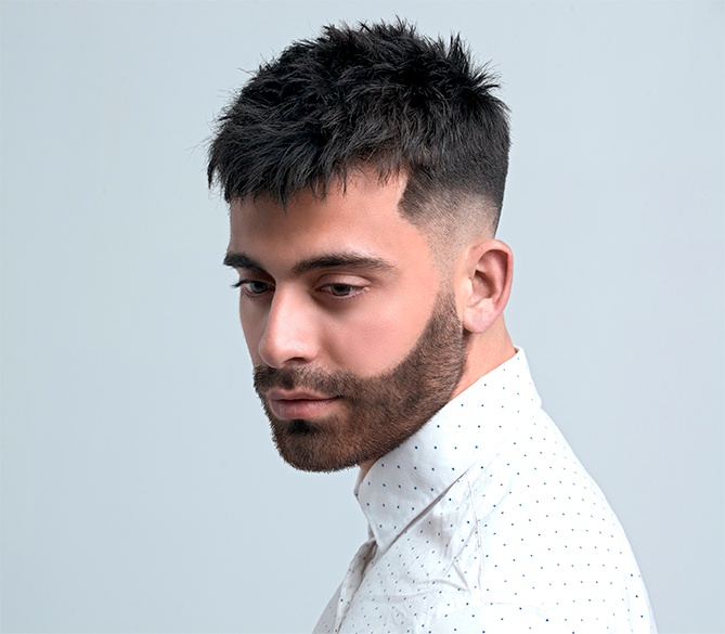 Introduction career to male hairstyling