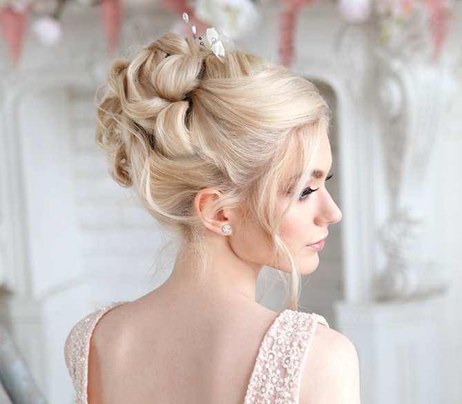 Professional Updo Techniques. Development and execution