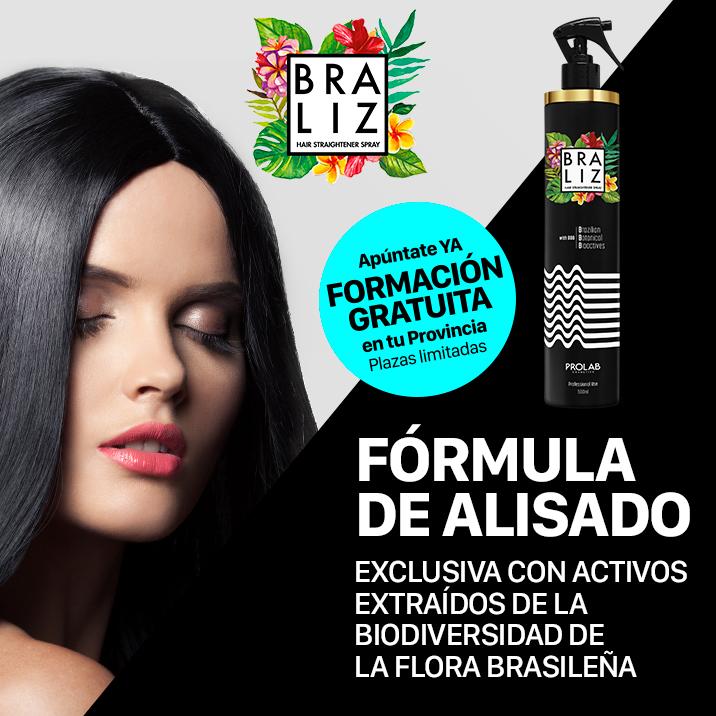 BRALIZ,   FÓRMULA DE ALISADO EXCLUSIVA