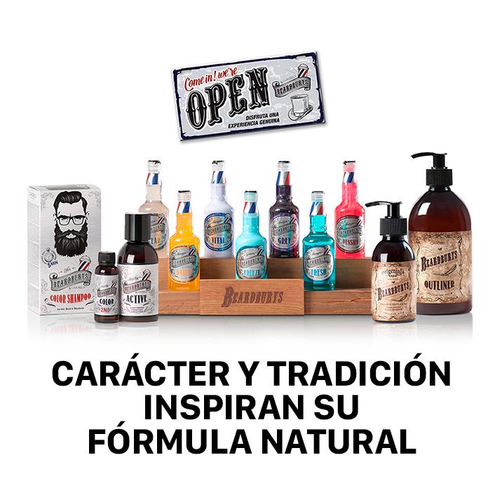 BEARDBURYS.Carácter y tradición inspiran su fórmula natural.