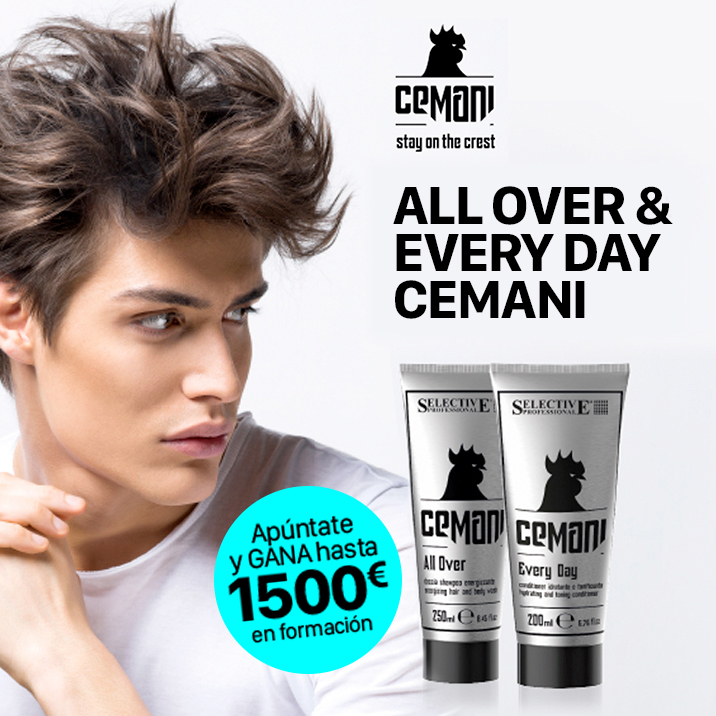 CEMANI.  All Over shampoo y Every Day conditioner.