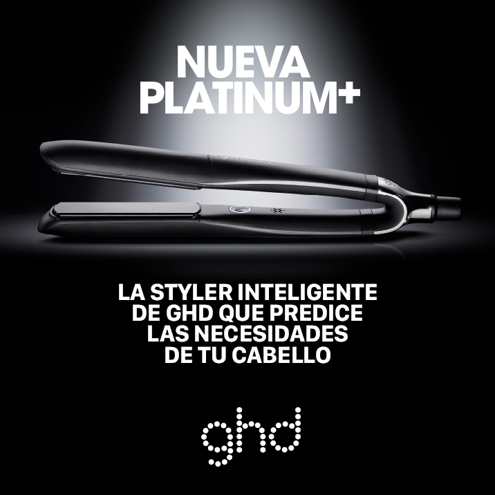 Nueva GHD Platinum+  La primera styler inteligente del mundo que predice las necesidades del cabello