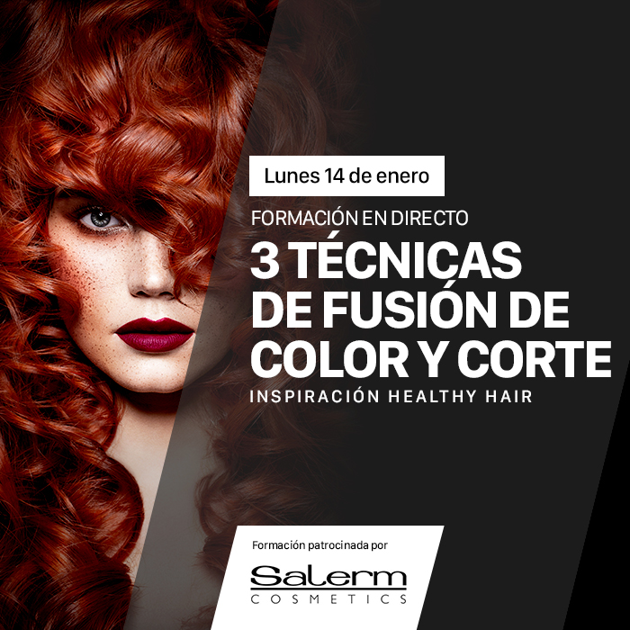 3 Técnicas de fusión de color y corte. Inspiración Healthy Hair