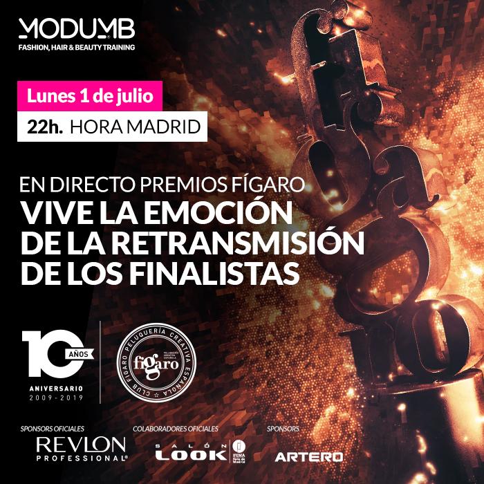 Vive la emoción de la retransmisión en directo de los finalistas de la 10 ª Edición de los Premios Fígaro