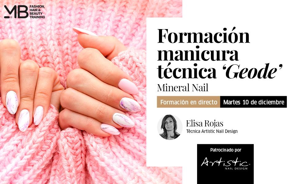 Formación de Manicura Técnica Geode. Mineral Nail