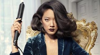 GHD Rise, the first electric brush with which you get 2 times more volume from roots to tips