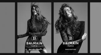 "Balmain presents its spring-summer 2020 campaign ""Effortless summer hair"""