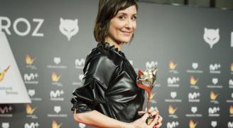 Nathalie Poza, ganadora del premio L'Oreal Professionnel como mejor actriz en los Premios Feroz