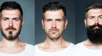 Beard and mustache styles for every face shape