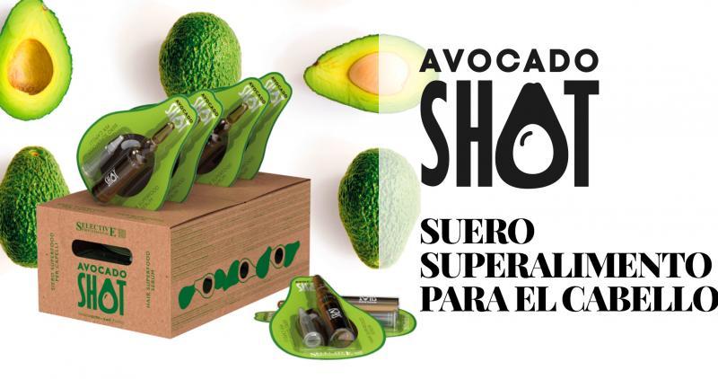 Avocado Shot, un disparo de hidratación y rejuvenecimiento para el cabello, de Selective Professional