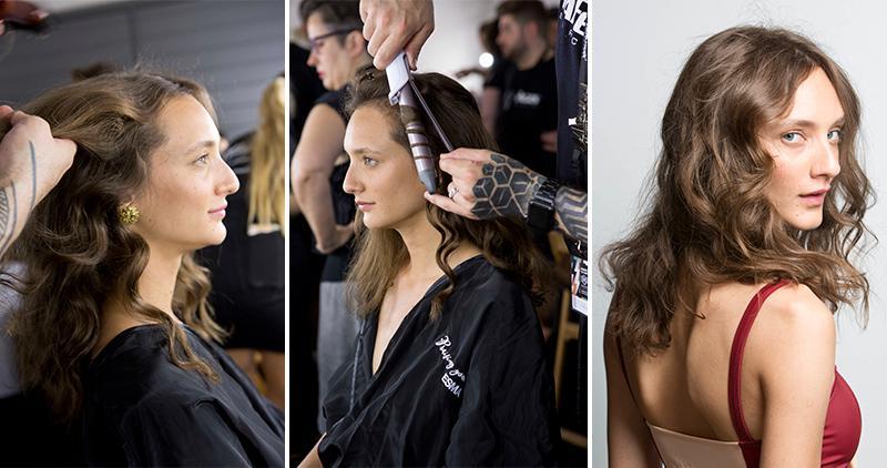 Descubre el paso a paso de uno de los looks de pasarela de Laura Vecino en la 080 Barcelona Fashion
