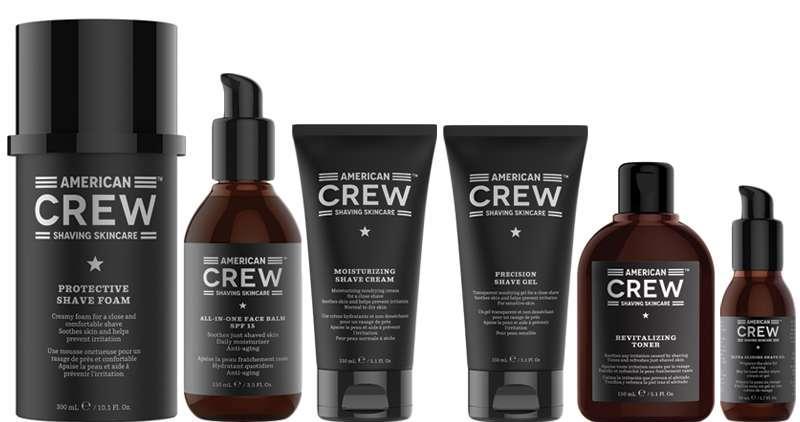 Dos nuevos productos de barbería de American Crew: ¡Classic Moisturizing Shave Cream y Post Shave Cooling Lotion!