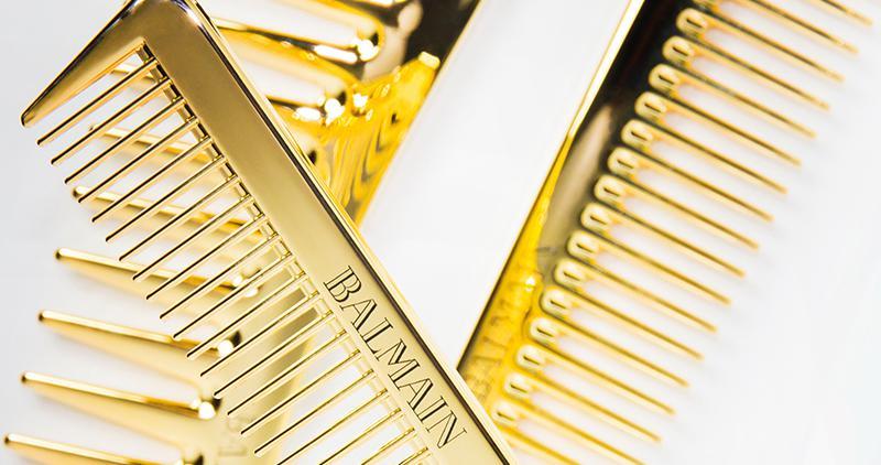 Balmain presenta dos colecciones de cepillos de lujo
