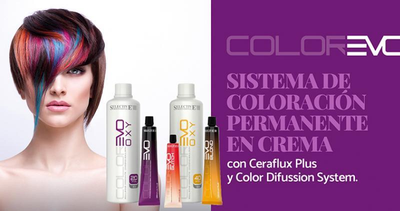 Colorevo de Selective Professional, la extensa paleta de color del peluquero