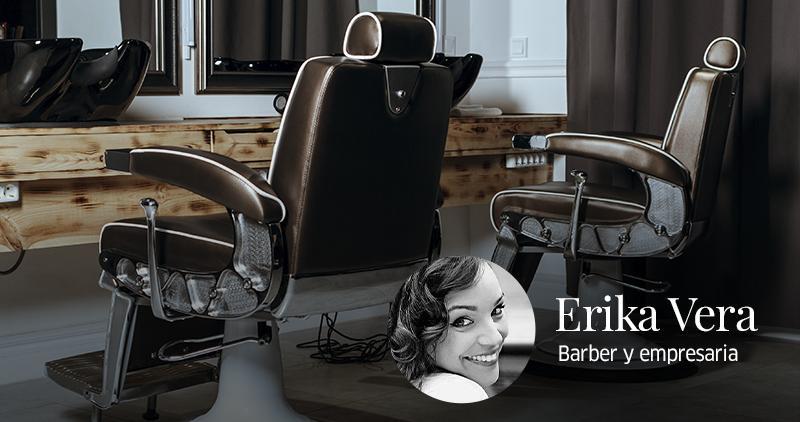 Erika Vera, the Spanish barber who made her dream come true