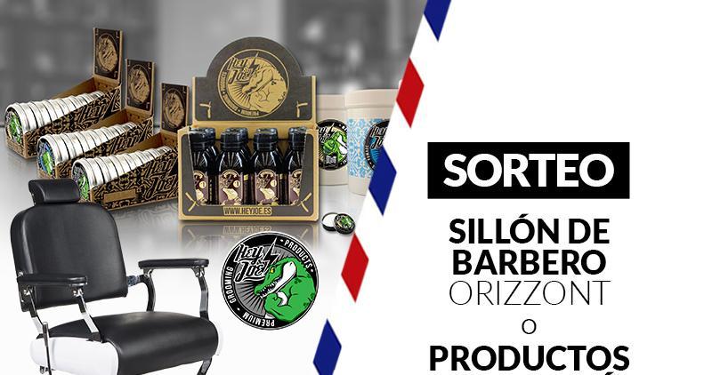 Orizzont y HEY JOE! Sortean un sillón de barbero y Productos de barbería
