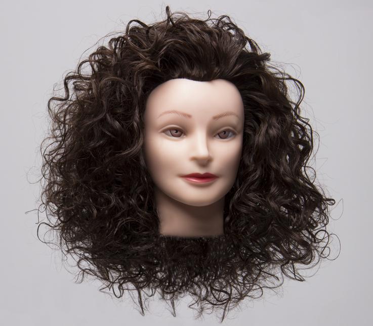 Técnica de permanente con doble molde en cabello largo
