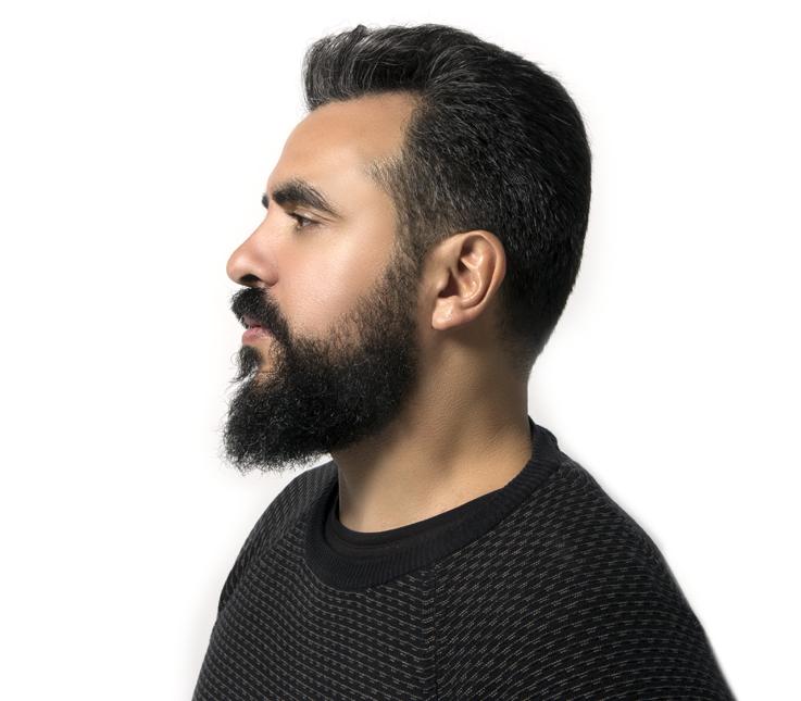 Arreglo de barba natural