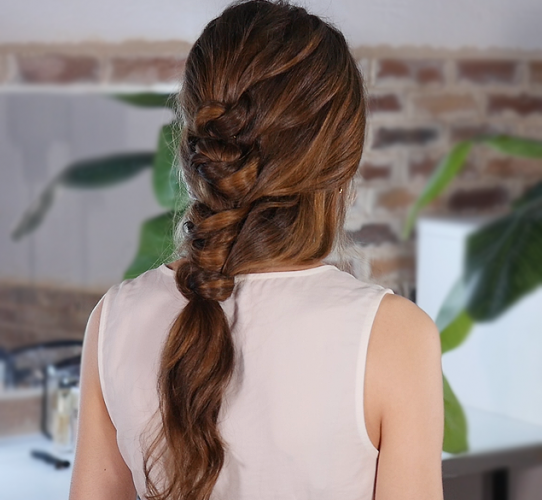 How to style a romantic bridal updo