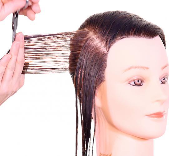Conceptos básicos de corte - Desplazamiento del cabello