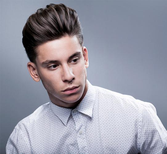 Modern version of the classic pompadour