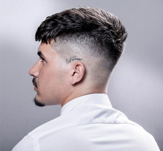 British crop inspired haircut