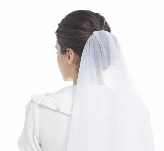 Cómo poner distintos velos de novia