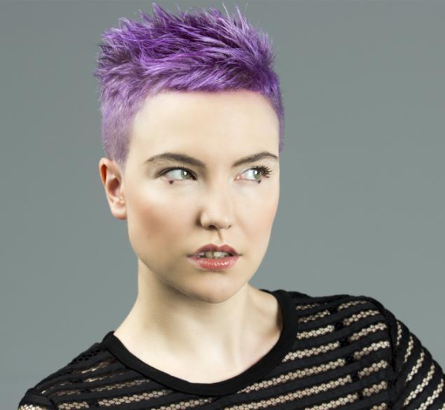 Cambio de volumen en cabello corto