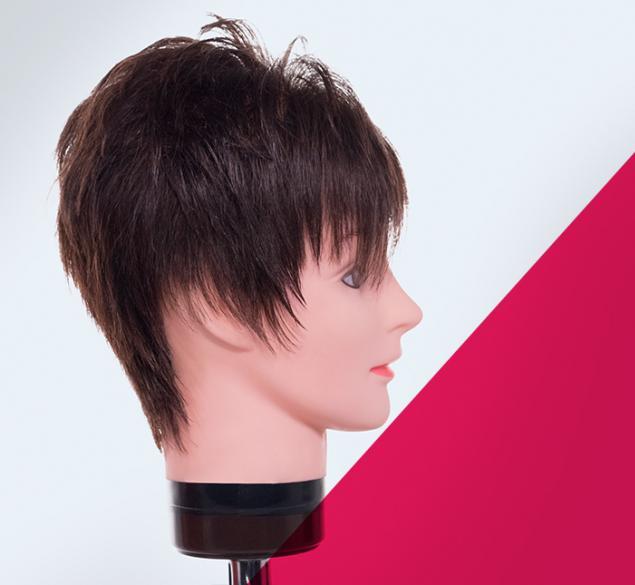 Corte base en cabello corto