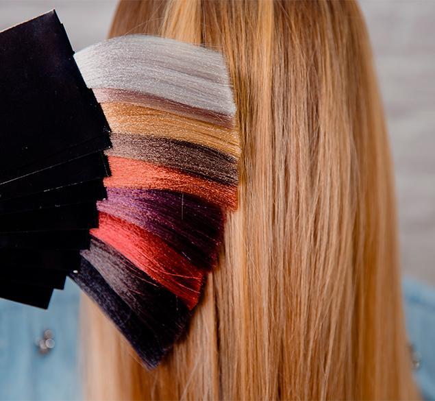 ¿Cómo actúa el tinte en el cabello?