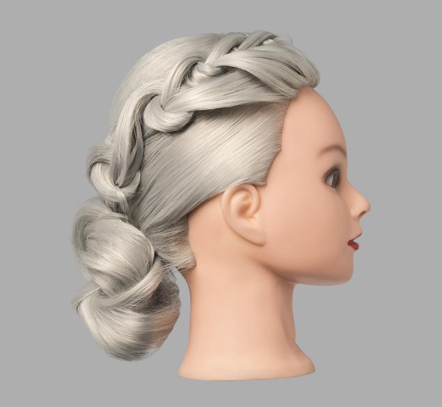 Recogido con decoración de cabello