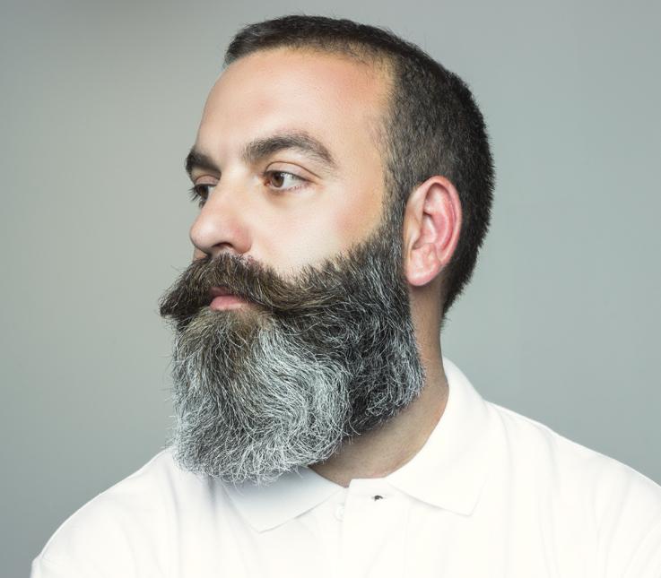 Arreglo de barba media