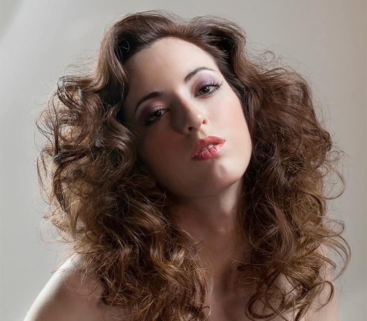 peinado con diferentes tcnicas de tenacillas - Peinados Con Tenacillas