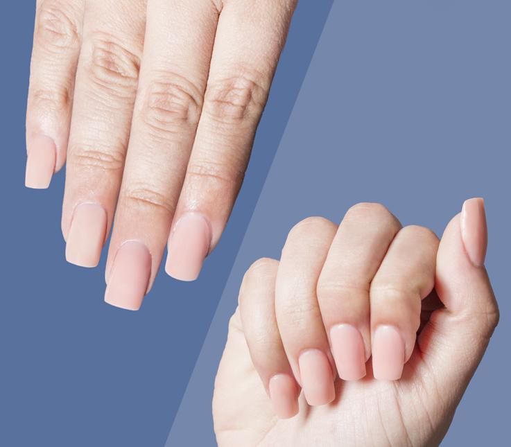 Cómo alargar la uña natural con Polygel y molde