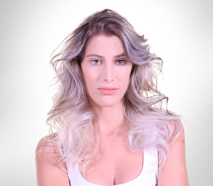 Técnica Balayage Blonde Reversed